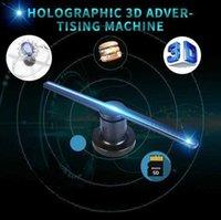 Advertising display equipment 3D WIFI holographic advertising machine 42 cm fan rotating projection screen 224 LED Naked Eye Projector Advertisement Player GTFK