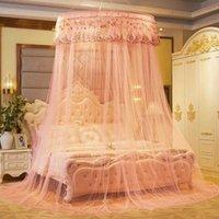 Kid Bed BedCover Bedcover Ziquito Tenda Biancheria da letto Bambina romantica Bambina rotonda Cupola Dome Tenda in cotone