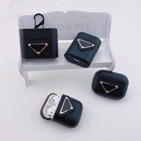 1/2エアポッドプロトップクオリティファッションレタープリント保護ブラックホワイトピンNKイヤホンパッケージキーチェーン卸売