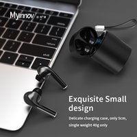 Earphones Bluetooth5.0 Headphone auto paring wireless Charging case Earbuds powerful IC