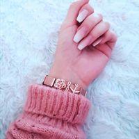 Tennis SANSHOOR Mesh Armband Stainless Steel Bracelet Set Airplane XOXO Rose Flower Keeper Slide Charms Women Fashion Jewelry 1