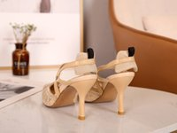 Women sandales sandals high heel sandale slides summer beach casual gladiator shoe top quality leather sandal fashion high-heeled lady sexy dress party Sliders