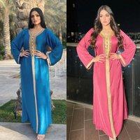 Ethnic Clothing Ramadan Abaya Dubai Turkey Arabic Muslim Hijab Dress Kaftan Islam Dresses For Women Morocco Vestido Robe Longue Djellaba Fem