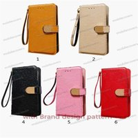 M design Luxury PU Leather Phone Cases Wallet general model suitable under 6.7 inch for iphone 13promax case Credit Card Holder Leather protective cover
