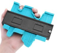 Plastic Gauge Contour Profile Copy Gauge Duplicator Standard 5 Width Wood Marking Tool Tiling Laminate Tiles General Tools GWD6474