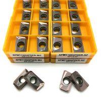 APMT1604 M2 APMT1604 Wkładki węglika H2 Wkładka Frezowanie Narzędzia CNC CNC Metalowe narzędzia Tokarki APMT1604PDER Frezowanie