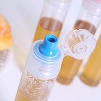 Pequeno vazio de mel salada selada salada molho de salada de alimentos garrafas de pacote de frascos de armazenamento para viagem dwd10802