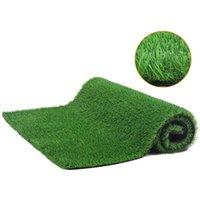 Decorative Flowers & Wreaths 1*2m Grass Mat Green Artificial Lawns Turf Carpets Fake Sod Garden Moss Landscape Ornament For Indoor Outdoor L