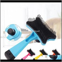 Pet Home & Gardenpet Comb Hair Removing Cleansing Cosmetic Plastic Dog Flea Supplies Grooming Drop Delivery 2021 Ygowl