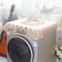 Table Cloth Drum Washing Machine Cover Funda Lavadora Carga Frontal Mini Dustproof Towel Tablecloth