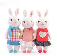 37cm Metao Boneca StuffedToys Animais de Pelúcia Crianças Brinquedos para Menina Crianças Meninos Kawaii Bebê Plushtoys Dos Desenhos Animados Angela Coelho Soft Toys