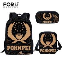 Рюкзак foredesigns подростки мода Полинезия pohnpei дизайн печать школьные мешки для первичного студента повседневные мешки кампуса