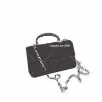 Limited Edition Mini Classic Ringbone Flip Bag цепь на плечо сумки икры кожаная сумма топ качества элегантная вечеринка ручка ручка сумочка несколько цветов