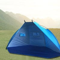 Tents And Shelters Waterproof Beach Tent Outdoor Fishing Camping Hiking Picnic Park Sunshelter Playing Sunscreen Awning