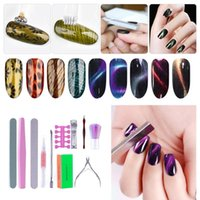 Nail Art Kits 1Set Professional Files Kit With Buffer Cuticle Trimmer Pusher Remover File Block Dust Brushes Manicure