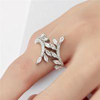 Высококачественные модные водой капли грушевидного кольца для женщин драгоценные украшения обручальные подарки кольца