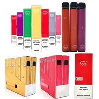 최고 품질의 담배 퍼프 바 플러스 일회용 vape 800 + 퍼프 550mAh 배터리 3.2ml 미리 채워진 카트리지 bang xxl instock 도매