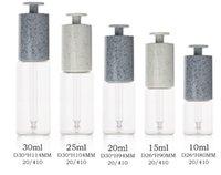 HOPECK Stone Grain T Press Dropper Bottle Essential Oil Glass Jar Essence Original Solution 20 410