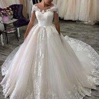 Beautiful Sparkle Wedding Dresses Sweetheart Bridal Ball Gown WeddingDresses Plus Size Vestidos