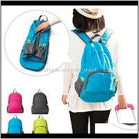 Унисекс складной сумка для путешествий большой емкости универсальные утилиты альпинизм рюкзак сумочка на открытом воздухе Сумки для хранения DBC DA6JZ FCCQD