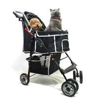 Малый и средний и средний домашний розетки для коляски складной четырехколесный автомобиль общего назначения для кошек собаки
