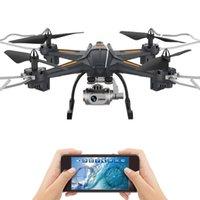 XY-S5 Fotocamera Drone Quadrocopter Wifi FPV HD HD in tempo reale 2.4G 4CH RC Helicopter Quadcopter RC Dron Toy Tempo di volo 15 minuti