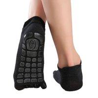 Men's Socks Simple Five Fingers Low Calf Slipper Toe Warm Breathable Solid Color Fitness Floor Wholesale