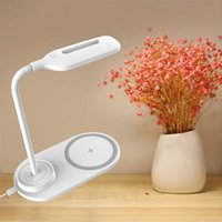 Nordic Luxury Desk Lamp Led Wireless Charger Table Usb Rechargeable Night Lights Dimmable Tafel Lampen Bedside AC50TD Lamps