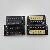 Electric Guitar Pickups Humbucker Pickups 4C zebra   Black set in stock