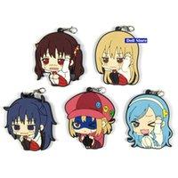Keychains himoot! umaru-chan 원래 일본어 일본어 일본어 그림 고무 휴대 전화 매력 / 열쇠 고리 / 스트랩 D245