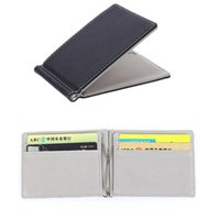 Wallets Men Wallet Short Skin Purses PU Leather Money Clips Sollid Thin For