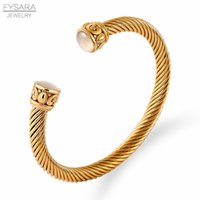 Twisted Cable Wire Bangle Brazaletes Pulseras Classic Brand Jewelry For Women Men Wire Black Apilable Pulseras Diseñador Regalo