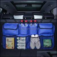 Storage Housekee Organization Home & Gardenstorage Bags Car Rear Bag Vehicle Chair Back Trunk Pouch Water Bottle Shoes Organizer Mti Hanging