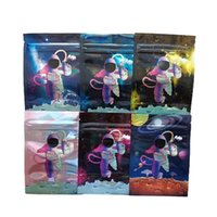 retail mylar bag edible space astronauts package zipper smellproof bags packages packing dry flower 3.5g packaging