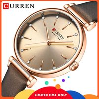 Curren Curren Classic's Girl's Donne Donne Retro Proof of Water Rosa Ladies Gold Wristband Watch Watch