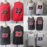 Gençlik Çocuklar 23 Formalar Kuzey Carolina Tar Topuklu Basketbol Dikişli Boyut S-XL