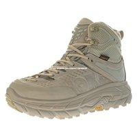 HOKA ONE TOR Ultra High Climbing Moutains Schuhe für Männer Wanderstiefel Herren Wüste Stiefeletten Trekking Jagd Angeln Camping Klettern Moutain Turnschuhe in Khaki