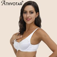 Bras ATHVOTAR Plus Size Bra Sexy Women's Bralette Top Lady Lingerie Push Up Brassiere Thin Lace Underwear