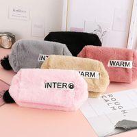 Wallets Women Handbag Wallet Coin Purse Clutch Bag Cute Plush Storage Multi-Function Cosmetic Bags Household Goods