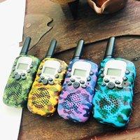 Walkie Talkie Children Toy Intercom Children's Radio Walkie-Talkie Kids Birthday Gift Toys For Boys Girls Interphone Range 5-6KM