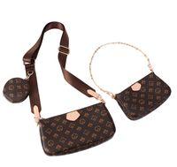 2021 여성 Luxurys 디자이너 크로스 바디 가방 가죽 여성 디자이너 핸드백 + 지갑 + 가방 어깨 쇼핑 토트 Pruse Tassel 핸드백