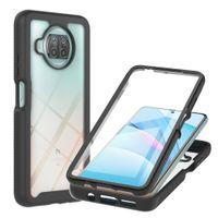 for Xiaomi Mi 10T Pro 360 Full Protection Phone Case for Funda Xiaomi Mi 10T Lite Case Luxury Bumper Clear Cover Glass Film Men