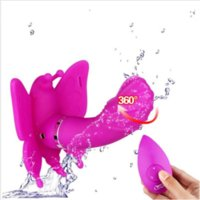 NEWEST Women Masturbation Strap on Butterfly Vibrator 20 Speed Wireless Remote Control Dildo Panties Vibrating Sex Toy for Couples #0221
