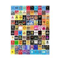 Umschlagtasche 0,5g 1g Papiertüten Jokesup Zourz Pink Runtz Gary Payton Certz 100 Typen Paketverpackung DHL frei