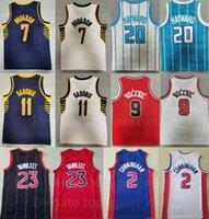 Baloncesto Nikola Vucevic Jersey 9 Malcolm Brogdon 7 Domantas Sabonis 11 Gordon Hayward 20 Fred Vanvleet 23 Cade Cunningham 2 cosido Buenos Hombres Use uniforme deportivo