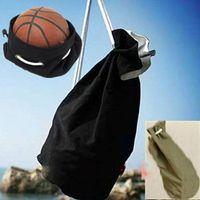 Bolsos de gimnasia deportivos para hombre al aire libre Escuela de mochila de baloncesto para adolescente Muchachos Paquete de balón de fútbol Bolsa de la computadora portátil Net de fútbol