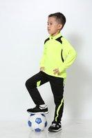 Survedeement Kids / Boys Sport Sports Soccer Training Football Pallacanestro in esecuzione palestra Shirt fitness + Pantaloni Tracksuits Suit Abbigliamento set
