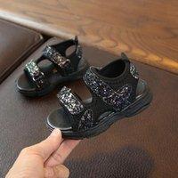 Sandals CSBL Children Baby Girls Boys Mesh Sequins Thick Bottom Summer Sport Sneakers Jun6