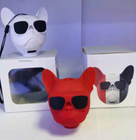Personalized mini dog head portable bluetooth speaker Suitable as a holiday gift accessories