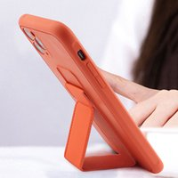 Magnethalter Stand Kickstand Hand Band Handy-Fälle für iPhone 11 12 PRO X XS MAX XR 7 8 PLUS HUAWEI P30 P40 Mate 30 40 Samsung S10 S